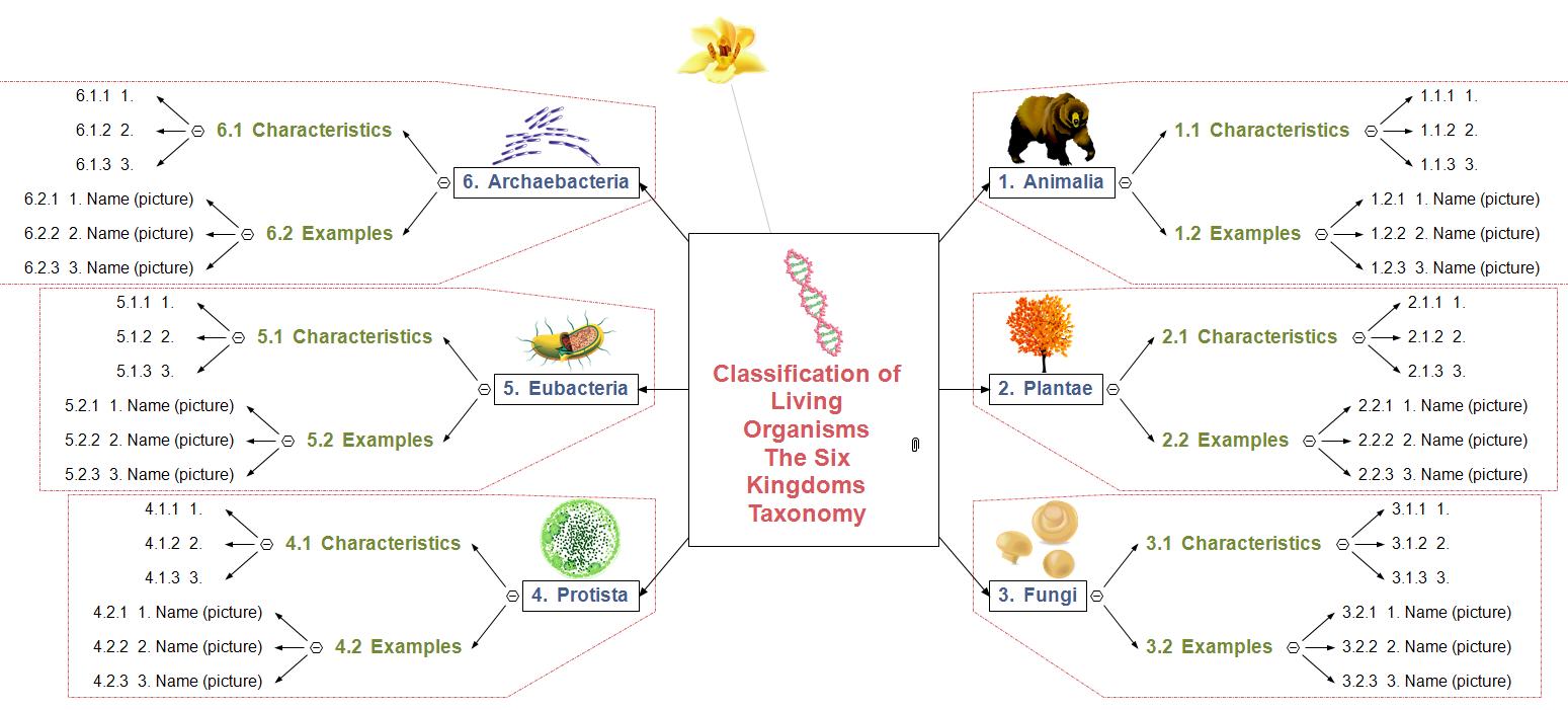 Taxonomy - Basic Mind Map
