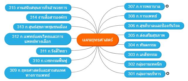 เเผนยุทธศาสตร์1 Mind Map