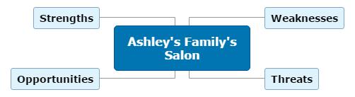 Ashley's Family's Salon Mind Map