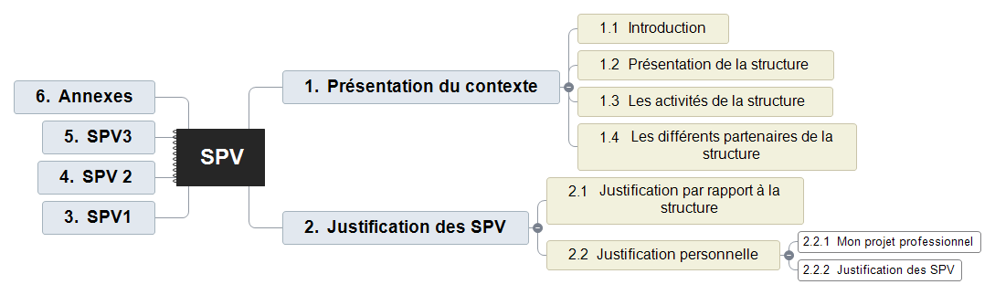 SPV Mind Maps