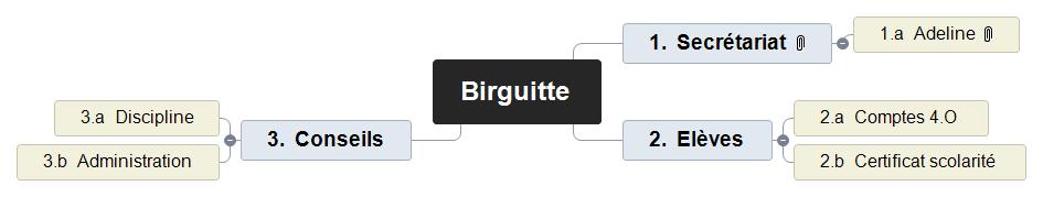 Birguitte Mind Maps