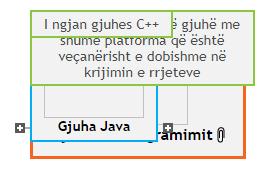 Gjuhet e Programimit Mind Map