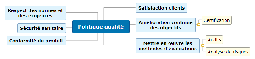 Politique qualité1 Mind Maps