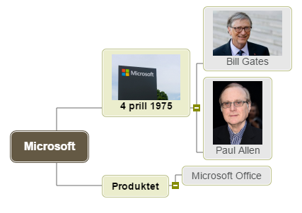 Microsoft1 Mind Map