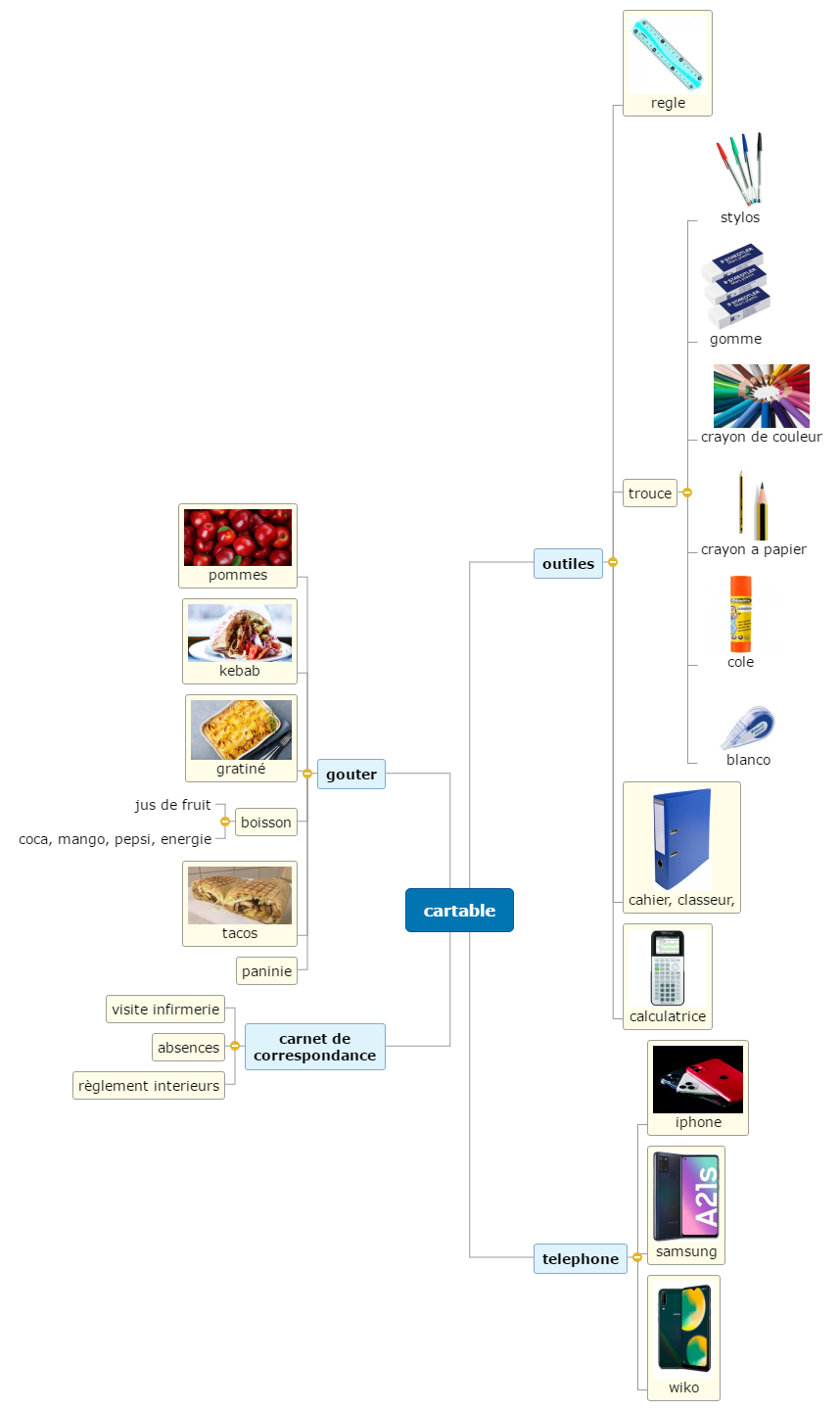 cartable2 Mind Maps