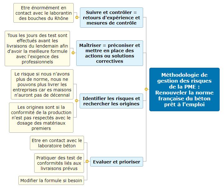 01-Méthodologie de gestion des risques de la PME-LIZZERI Mind Maps